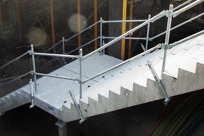Rekkverk fallsikring trapp SafetyRespect