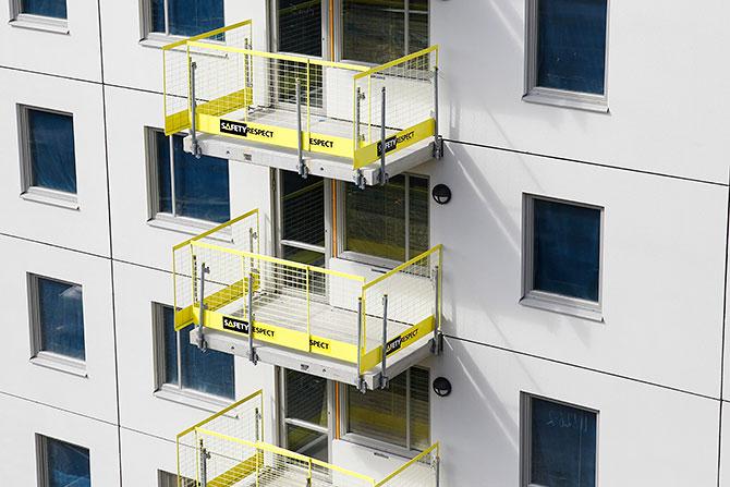 Fallsikring balkonger