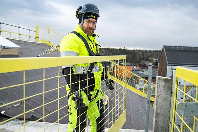Fallsikringssele SR body - SafetyRespect Personlig fallsikring