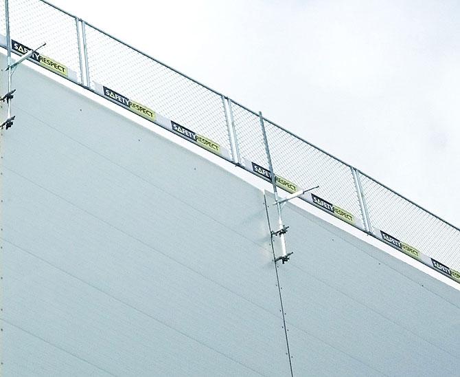Fallsikring haller SafetyRespect Hallsystem