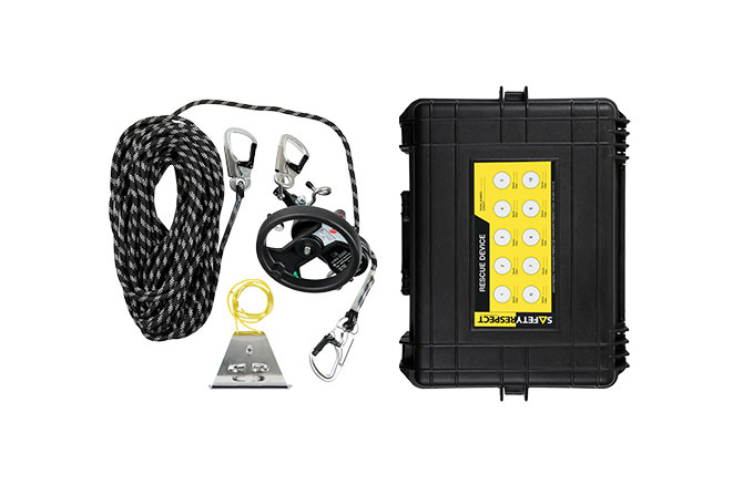 Rescue kit with case - SafetyRespect Personlig fallsikring
